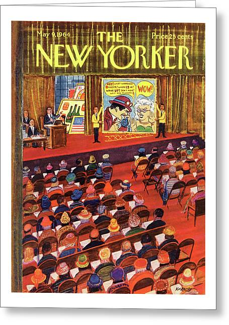 New Yorker May 9th, 1964 Greeting Card