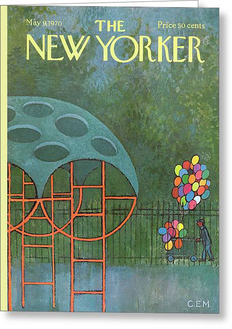 New Yorker May 9th, 1970 Greeting Card