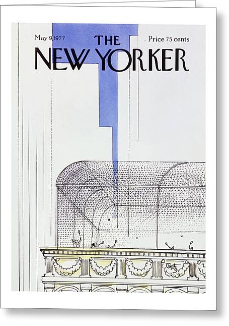 New Yorker May 9th 1977 Greeting Card by Arthur Getz