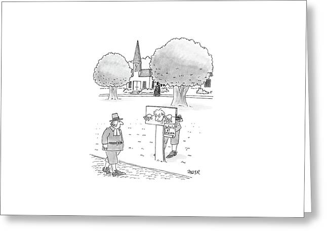 New Yorker May 9th, 1988 Greeting Card by Jack Ziegler
