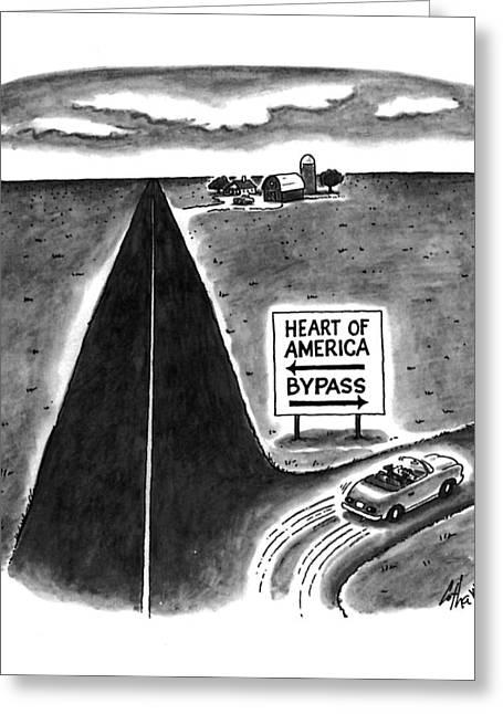 New Yorker May 9th, 1994 Greeting Card