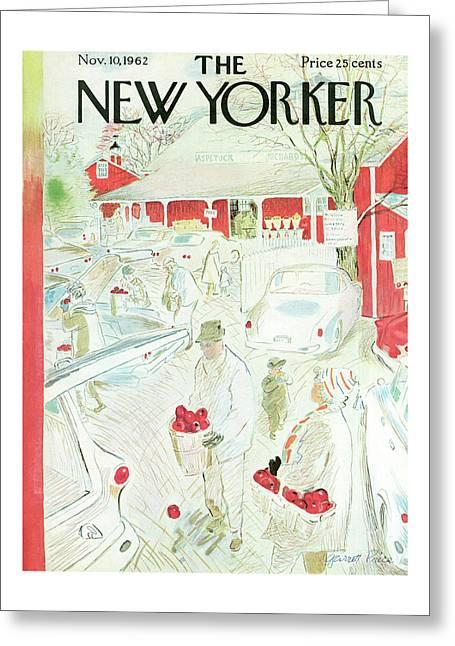 New Yorker November 10th, 1962 Greeting Card