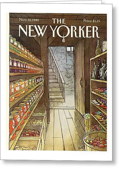 New Yorker November 10th, 1980 Greeting Card