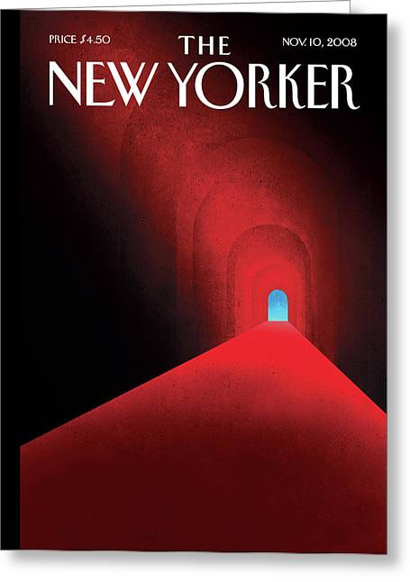 New Yorker November 10th, 2008 Greeting Card
