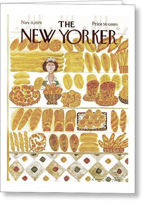 New Yorker November 11th, 1974 Greeting Card