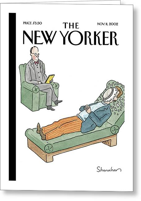 New Yorker November 11th, 2002 Greeting Card