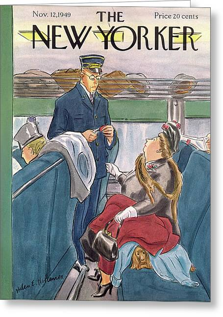 New Yorker November 12th, 1949 Greeting Card