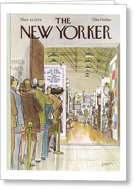 New Yorker November 12th, 1979 Greeting Card