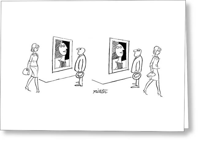 New Yorker November 13th, 1965 Greeting Card