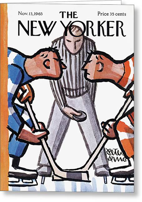 New Yorker November 13th, 1965 Greeting Card by Peter Arno