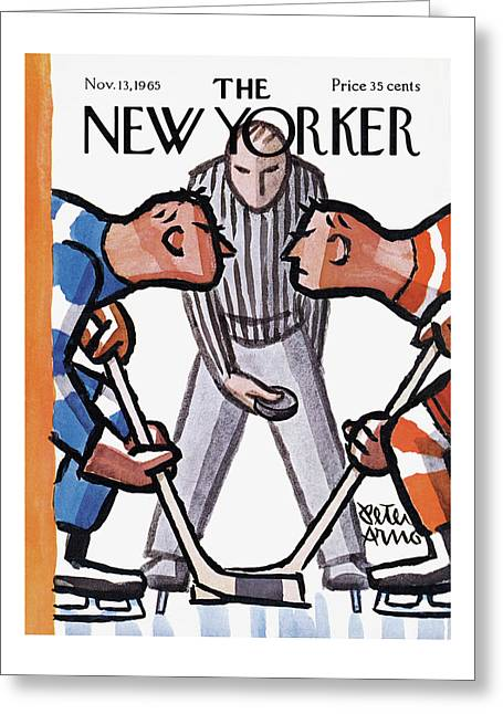 New Yorker November 13th, 1965 Greeting Card