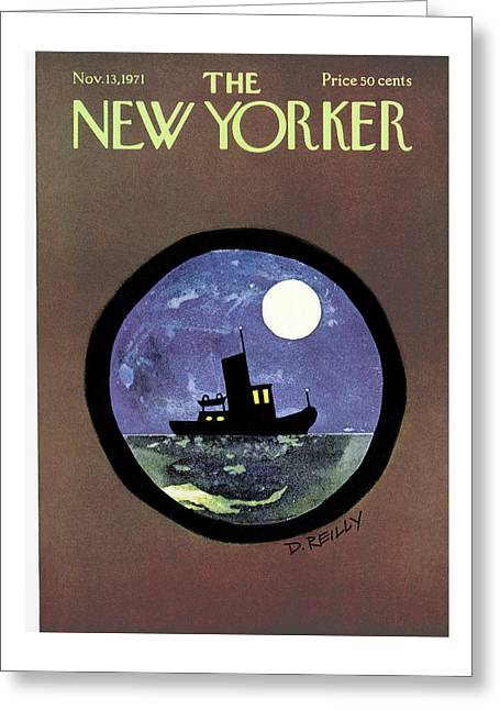 New Yorker November 13th, 1971 Greeting Card