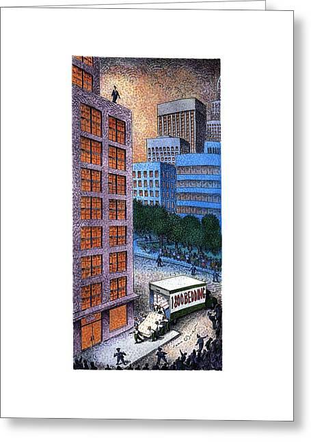 New Yorker November 13th, 1995 Greeting Card