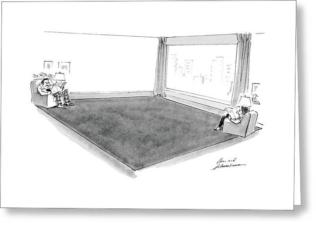 New Yorker November 14th, 1983 Greeting Card