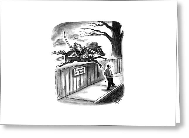 New Yorker November 14th, 1994 Greeting Card by Frank Cotham