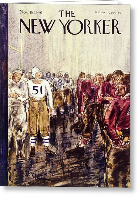 New Yorker November 16 1940 Greeting Card