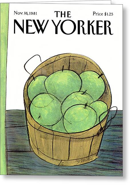New Yorker November 16th, 1981 Greeting Card