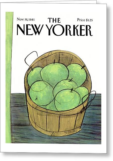 New Yorker November 16th, 1981 Greeting Card