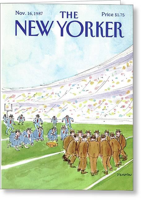 New Yorker November 16th, 1987 Greeting Card