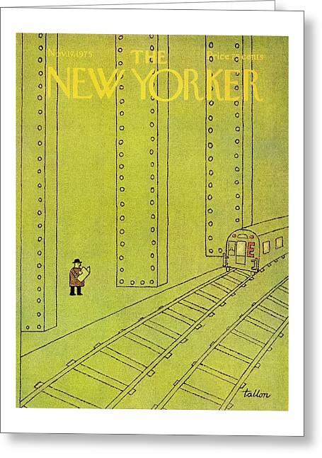 New Yorker November 17th 1975 Greeting Card