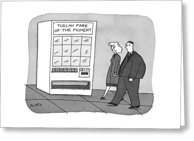 New Yorker November 17th, 1997 Greeting Card