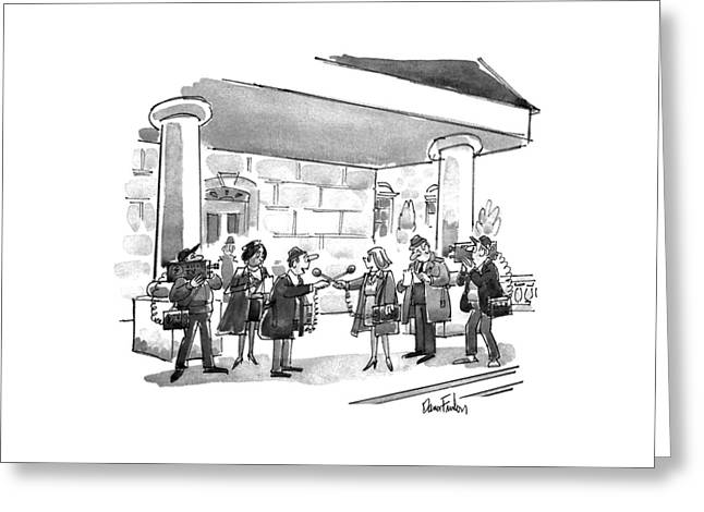 New Yorker November 18th, 1991 Greeting Card