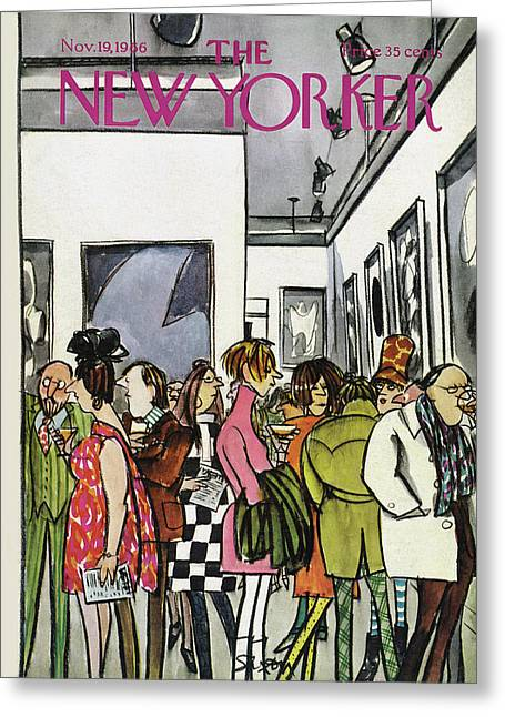 New Yorker November 19th, 1966 Greeting Card