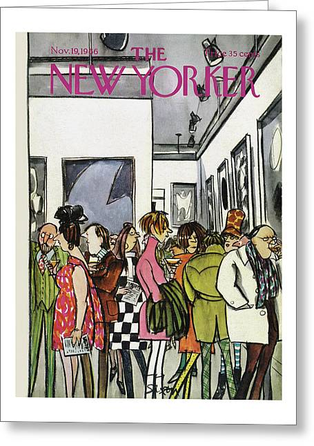 New Yorker November 19th, 1966 Greeting Card
