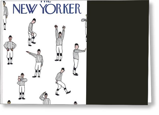 New Yorker November 19th, 1973 Greeting Card by James Stevenson