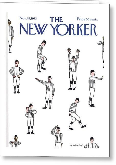 New Yorker November 19th, 1973 Greeting Card