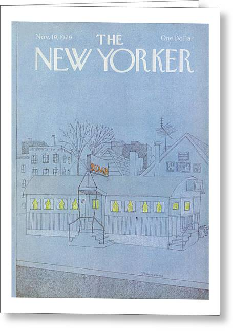New Yorker November 19th, 1979 Greeting Card