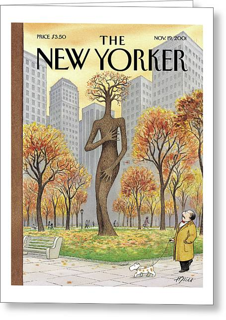 New Yorker November 19th, 2001 Greeting Card