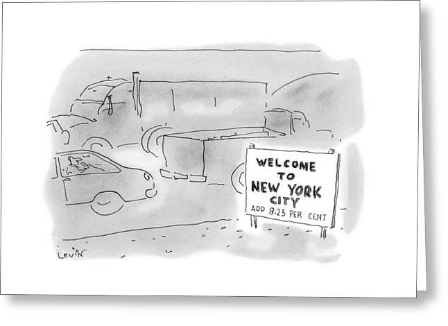 New Yorker November 1st, 1993 Greeting Card