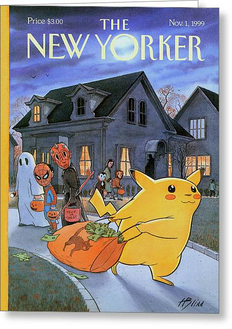 New Yorker November 1st, 1999 Greeting Card