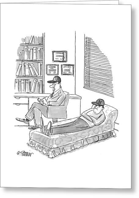 New Yorker November 1st, 1999 Greeting Card
