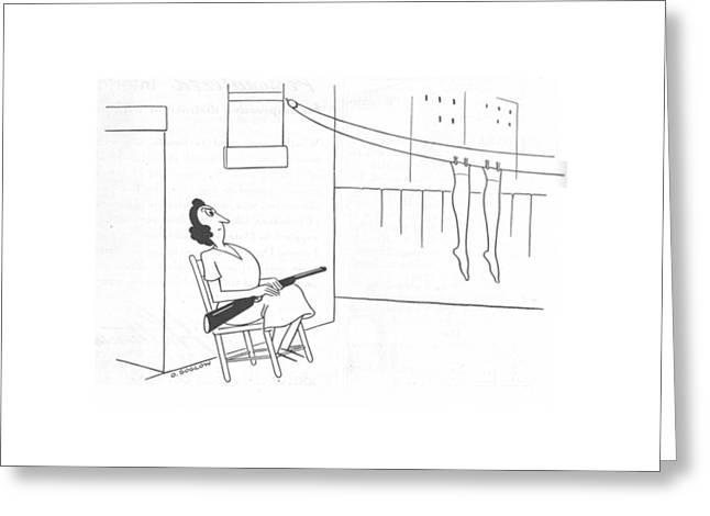 New Yorker November 20th, 1943 Greeting Card