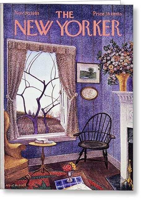 New Yorker November 20th 1965 Greeting Card