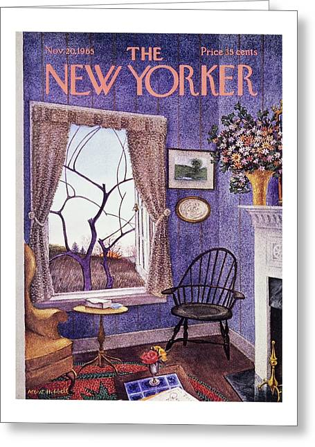 New Yorker November 20th 1965 Greeting Card