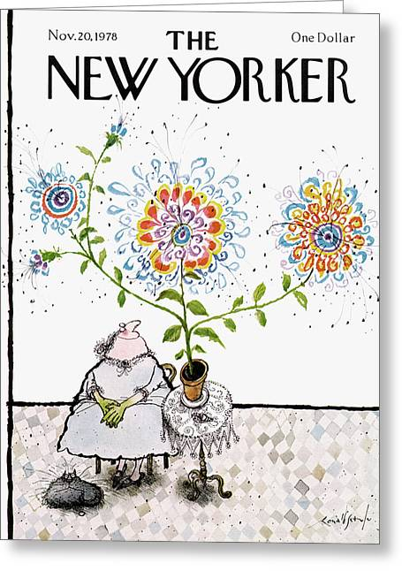 New Yorker November 20th, 1978 Greeting Card