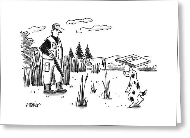 New Yorker November 20th, 1995 Greeting Card
