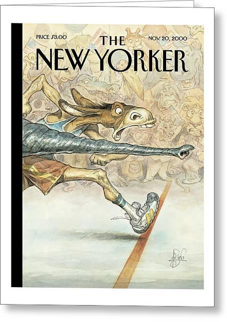 New Yorker November 20th, 2000 Greeting Card