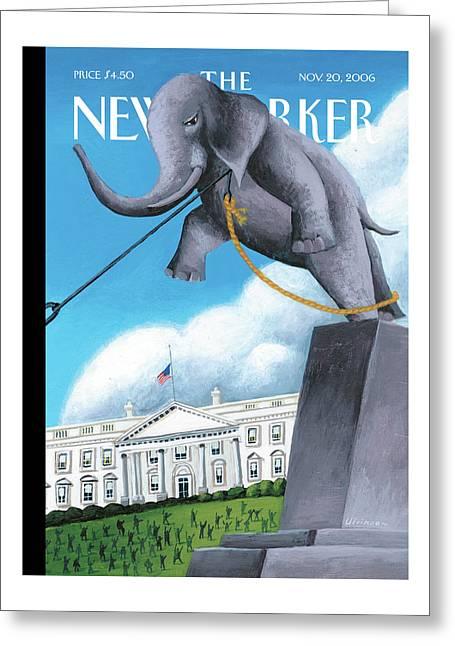 New Yorker November 20th, 2006 Greeting Card