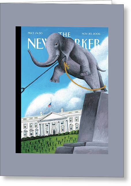 New Yorker November 20th, 2006 Greeting Card by Mark Ulriksen