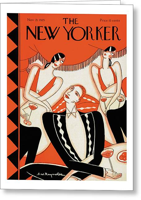 New Yorker November 21st, 1925 Greeting Card