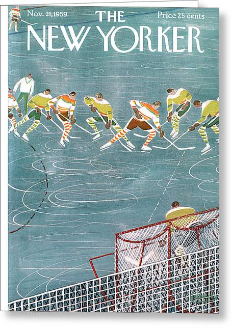 New Yorker November 21st, 1959 Greeting Card
