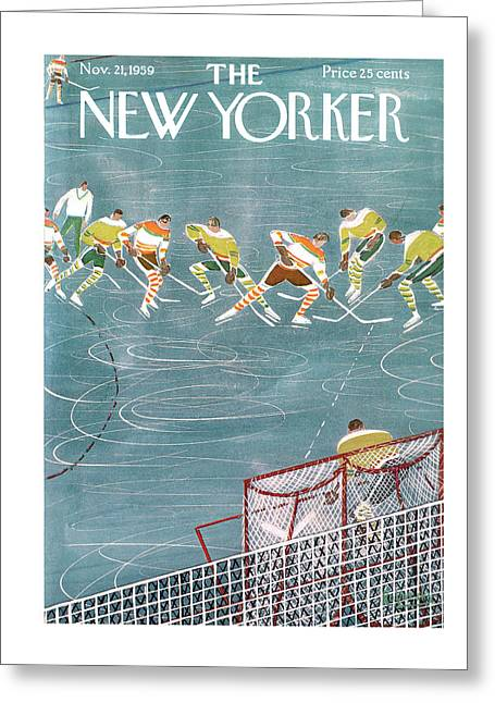 New Yorker November 21st, 1959 Greeting Card