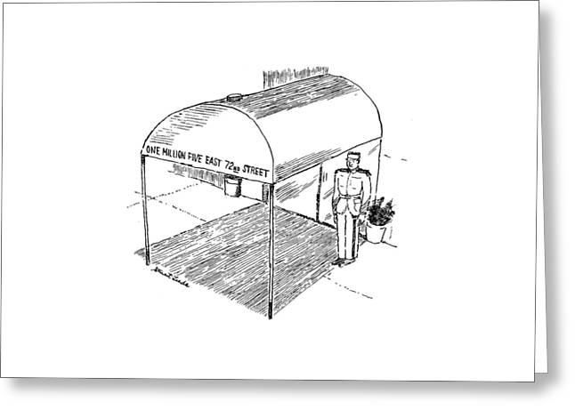 New Yorker November 21st, 1994 Greeting Card by Stuart Leeds