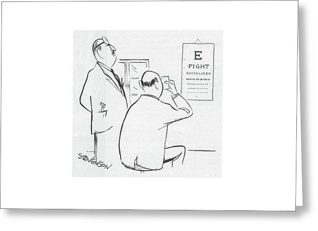 New Yorker November 22nd, 1958 Greeting Card