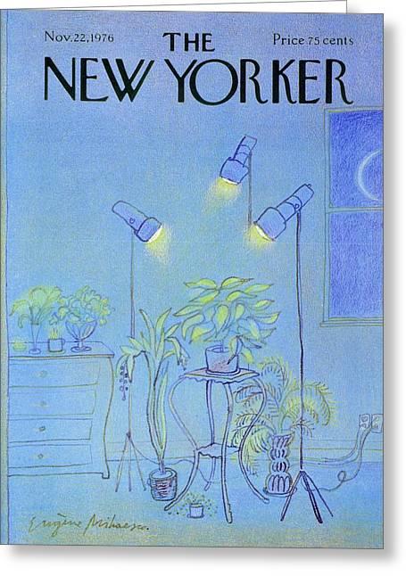 New Yorker November 22nd 1976 Greeting Card
