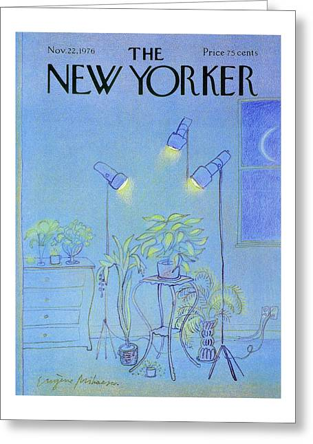 New Yorker November 22nd 1976 Greeting Card by Eugene Mihaesco